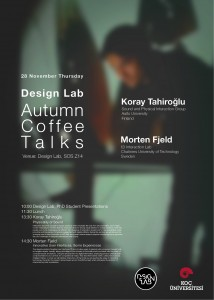 Autumn Coffee Talks Poster